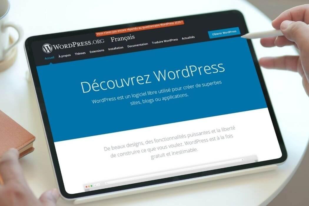 Découvrir WordPress