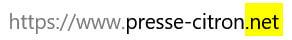 Extension Domaine Presse-Citron