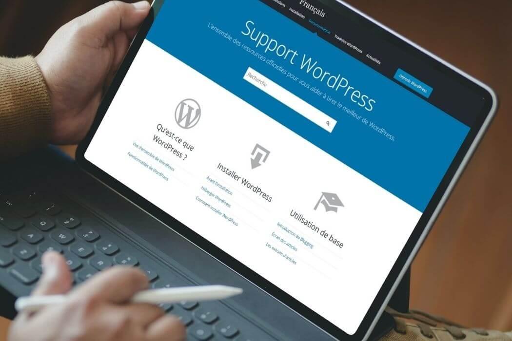 Support WordPress