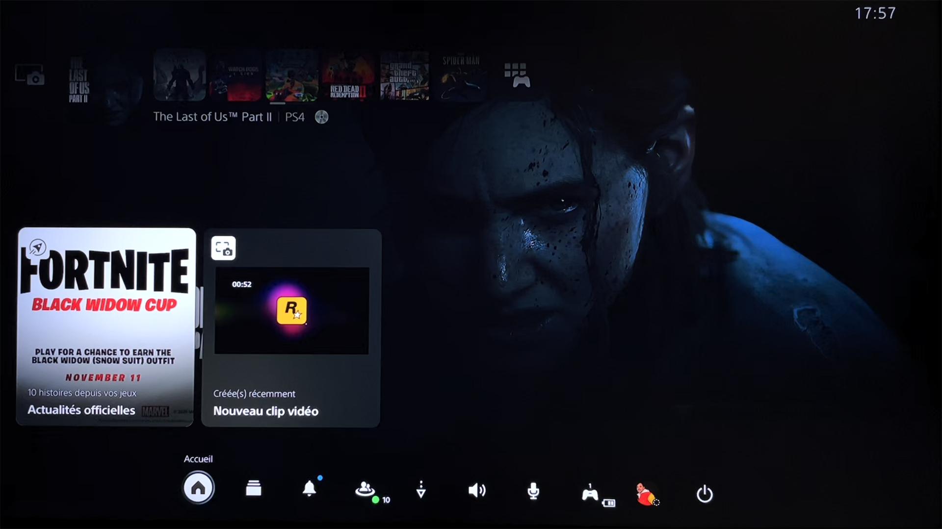 Nouvelle Interface PS5