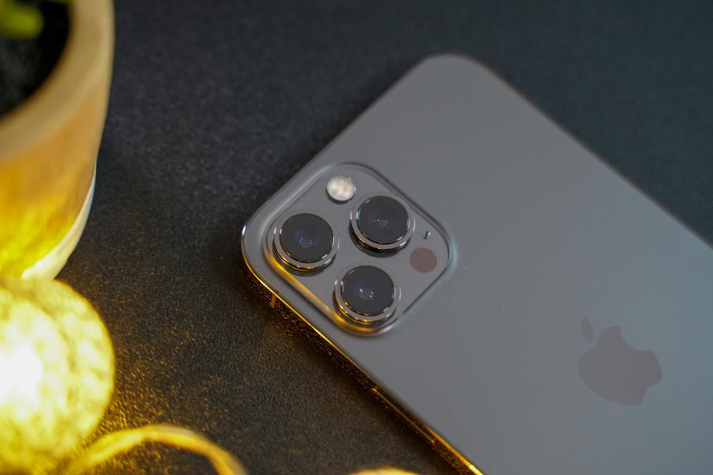 iphone 12 pro max capteurs photo