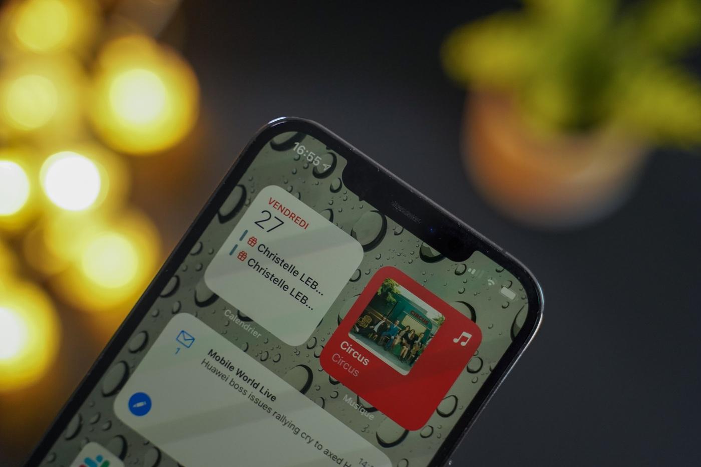 iphone 12 pro max encoche