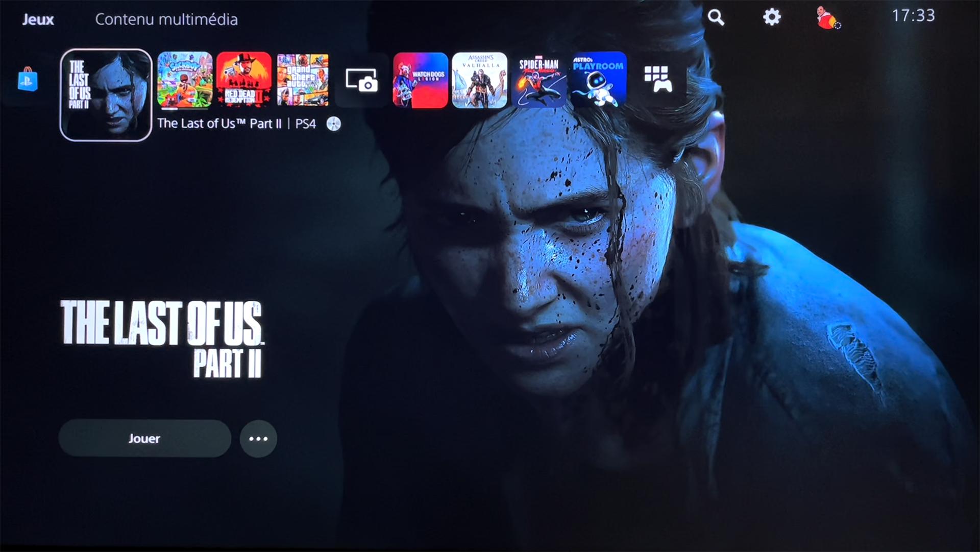 Jeux PS4 Rétro PS5