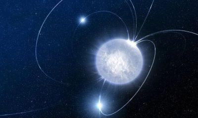 Magnétar à l'origine d'un sursaut radio rapide