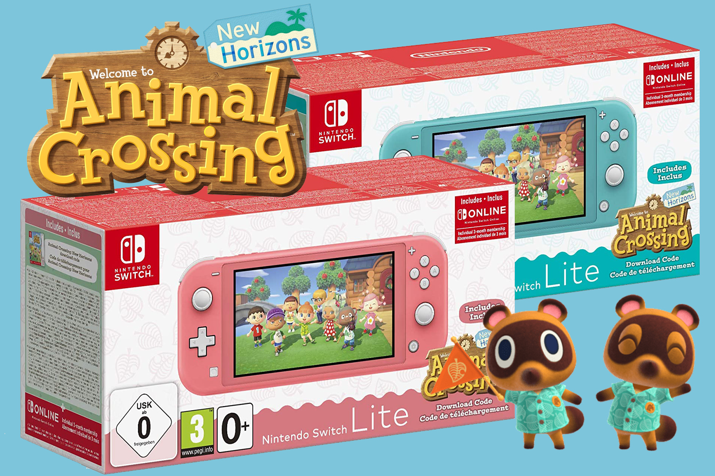 Where to buy the new Nintendo Switch Lite and Animal ...