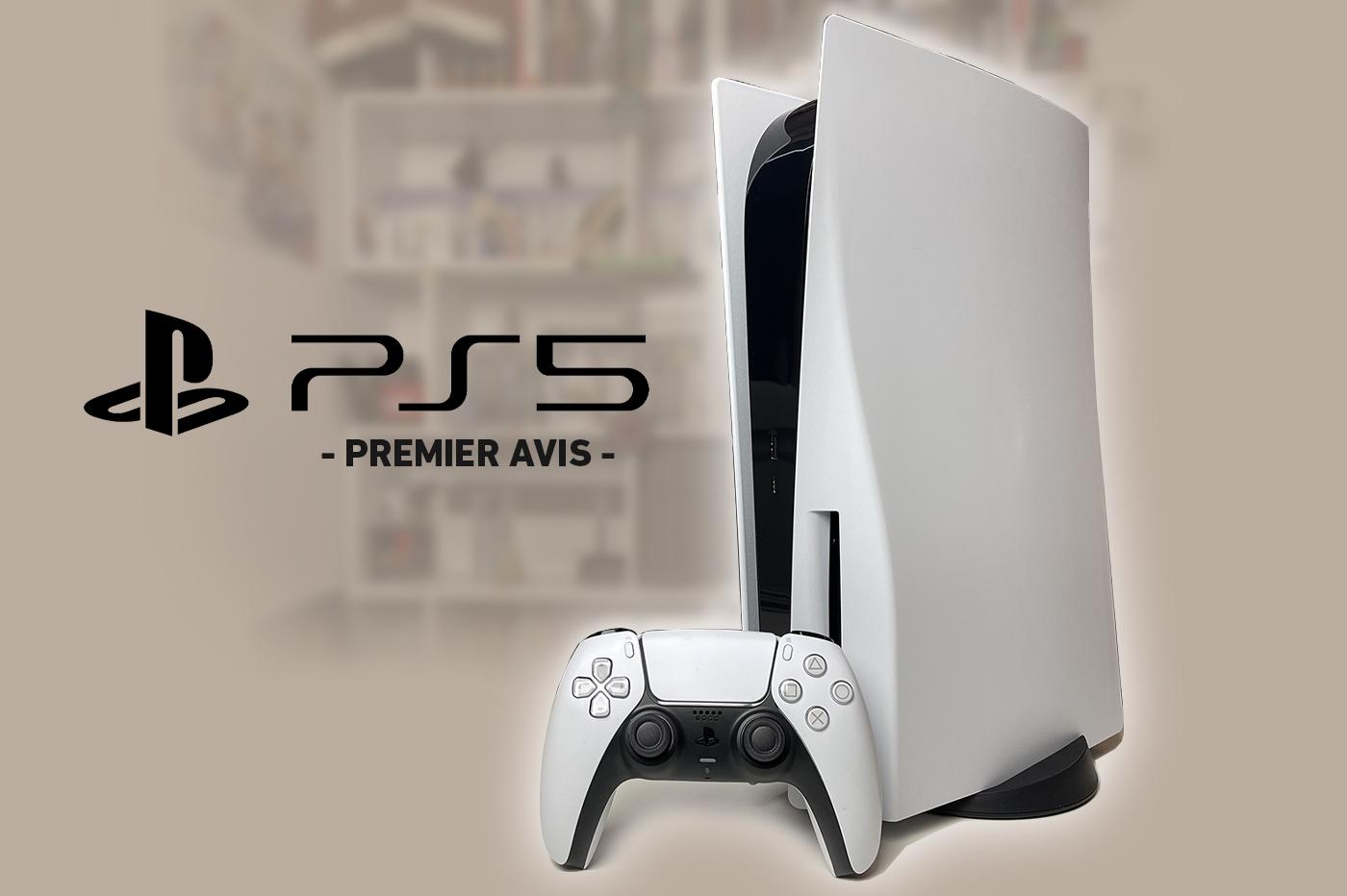 Premier Avis PS5 PlayStation 5