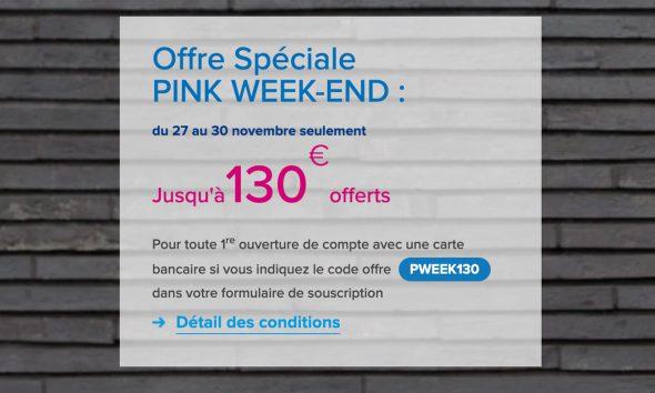 Pink Week-end