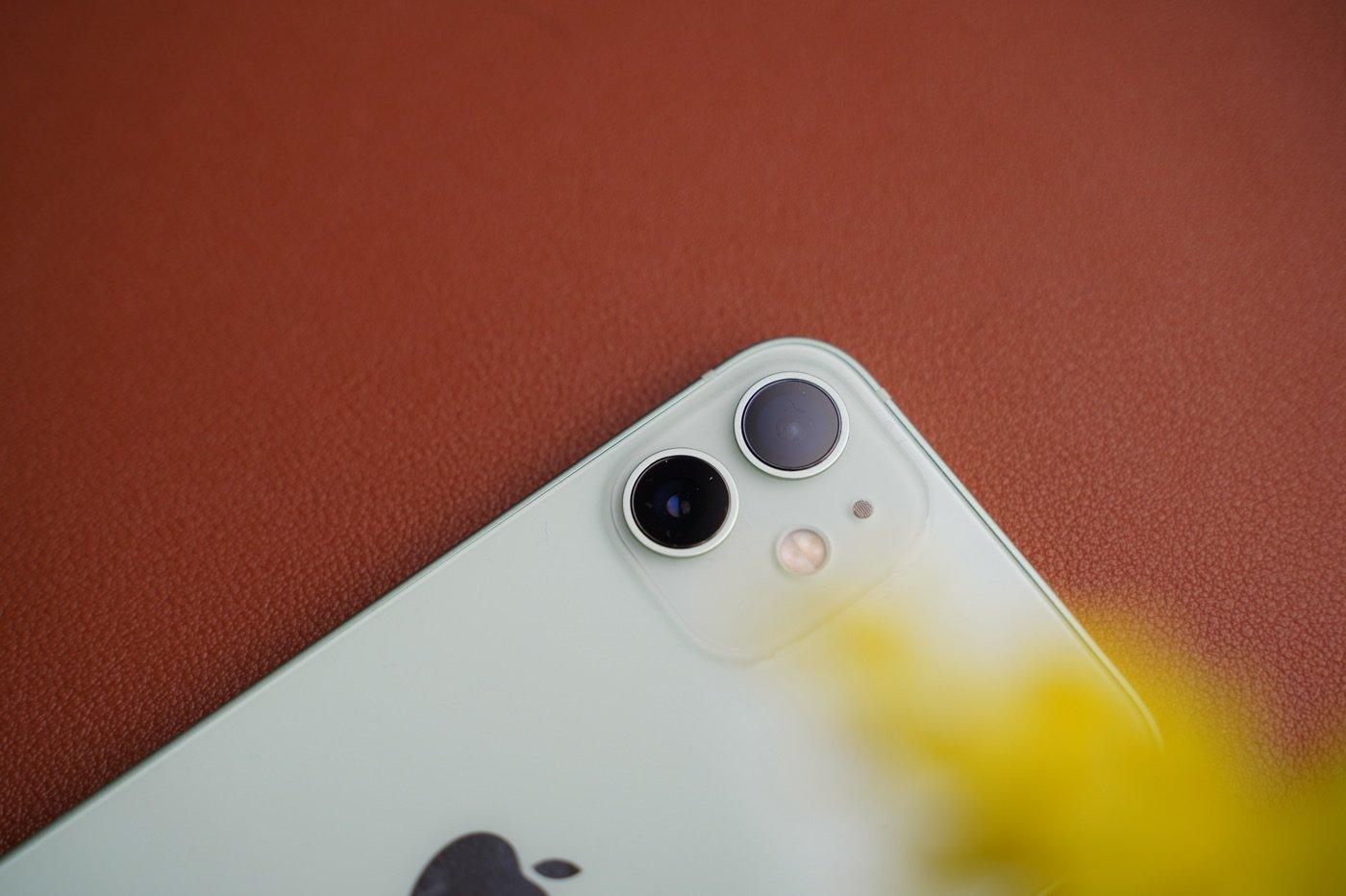 test iphone 12 mini appareil photo