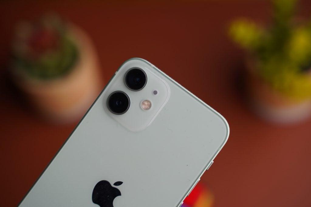 test iphone 12 mini capteurs photo