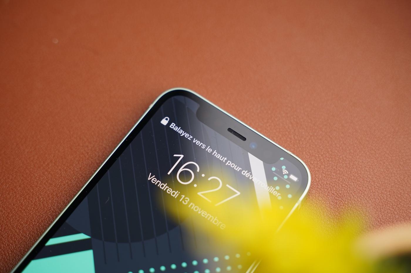 test iphone 12 mini encoche