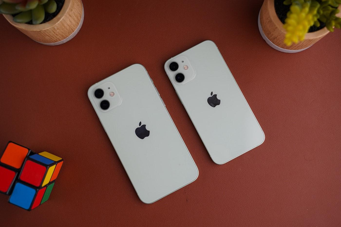 test iphone 12 mini vs 12