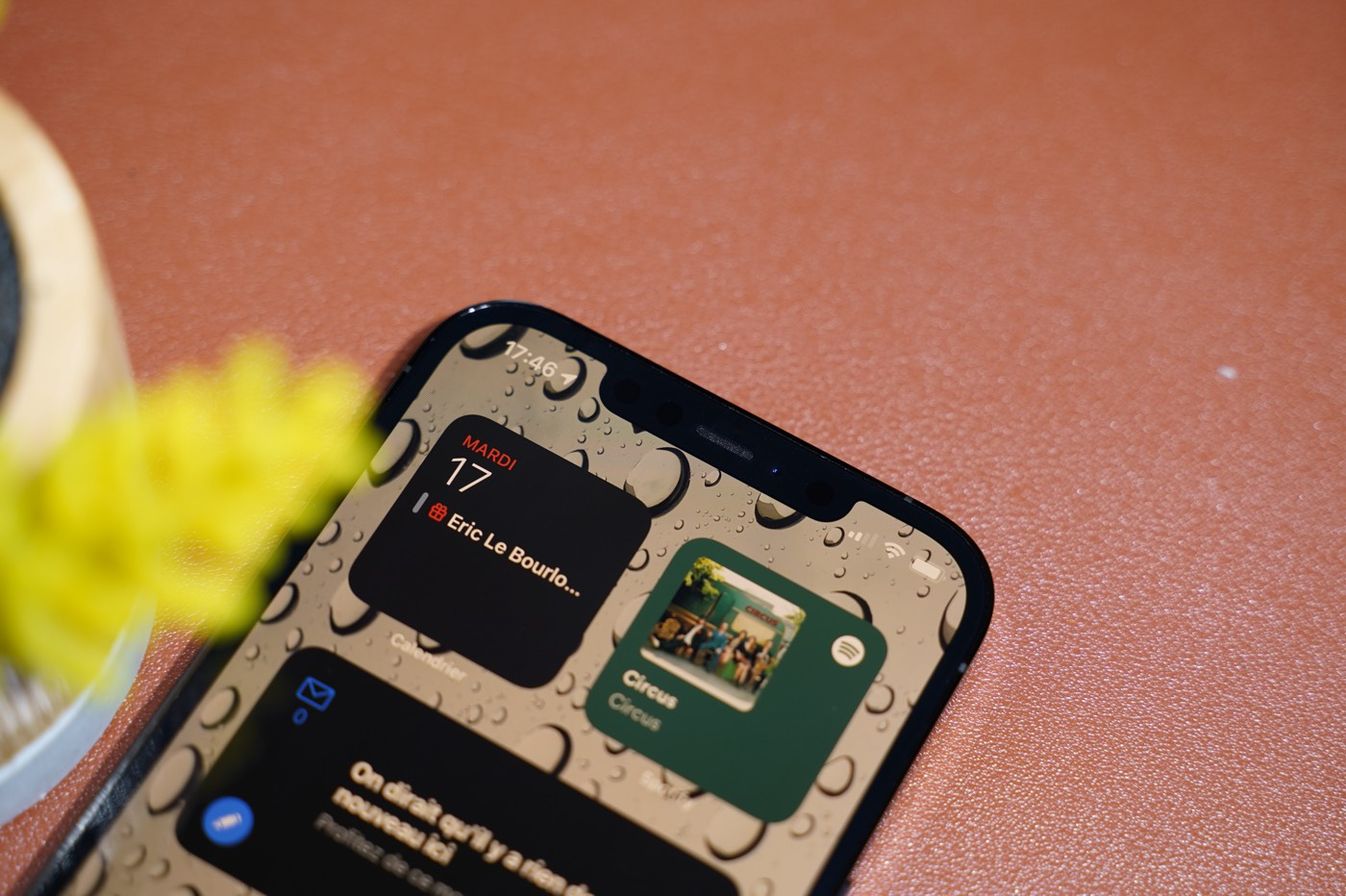 test iphone 12 pro max encoche