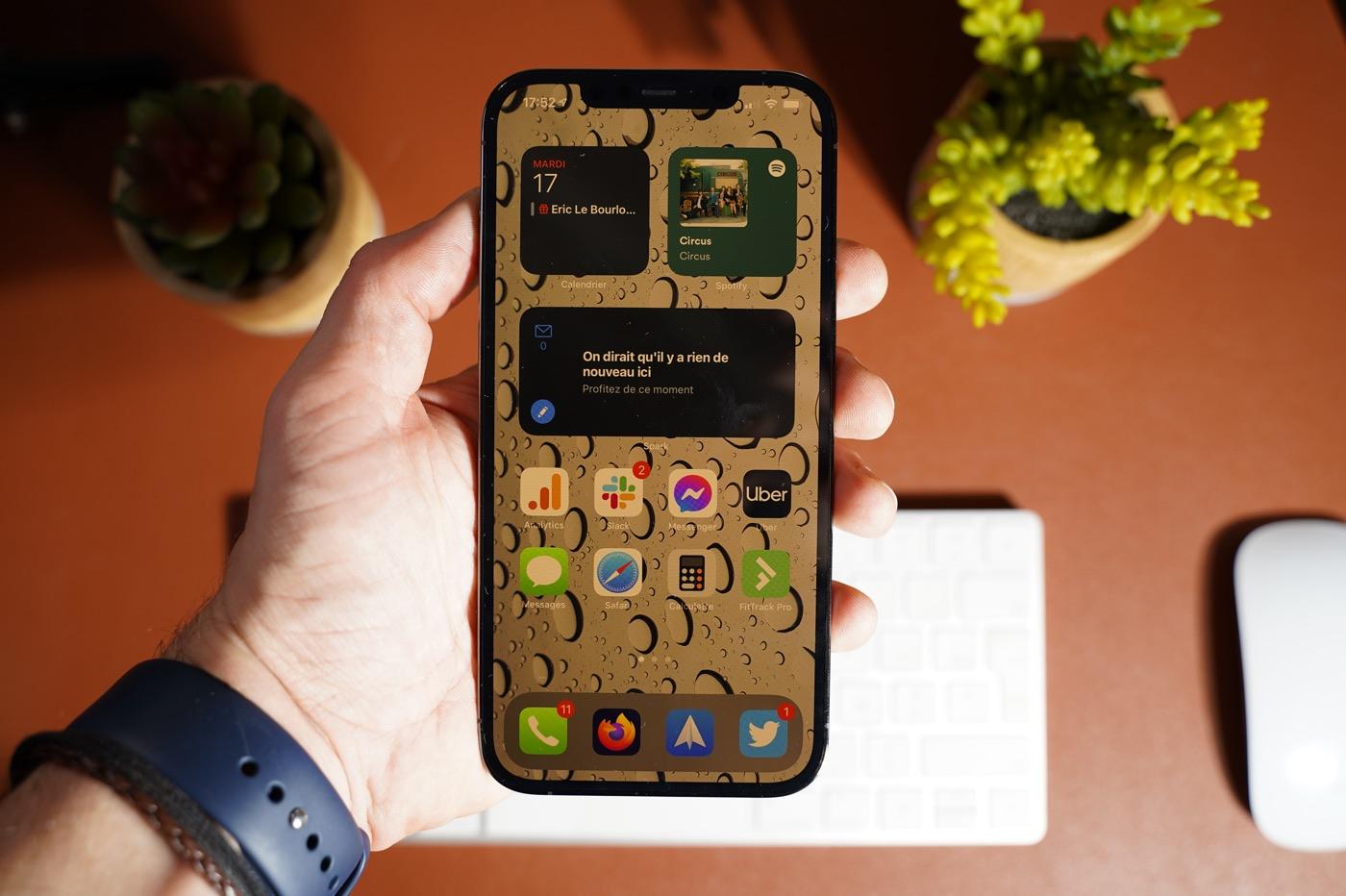 test iphone 12 pro max ios