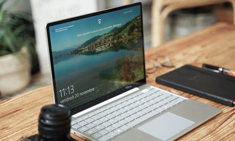 test microsoft surface laptop go