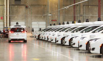 Waymo robot taxi