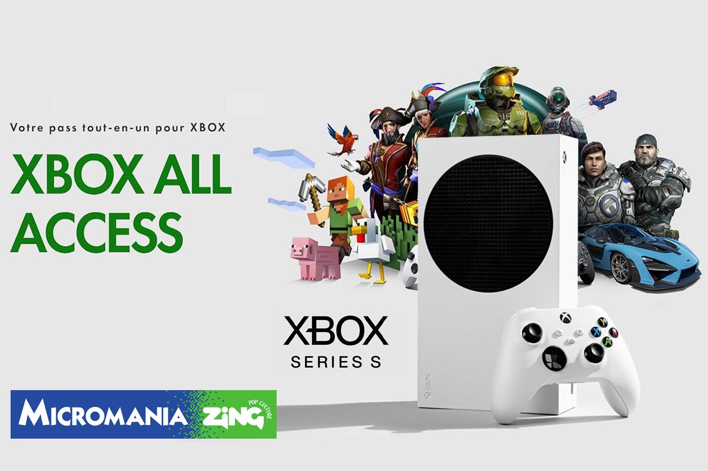 Xbox All Access Xbox Series S