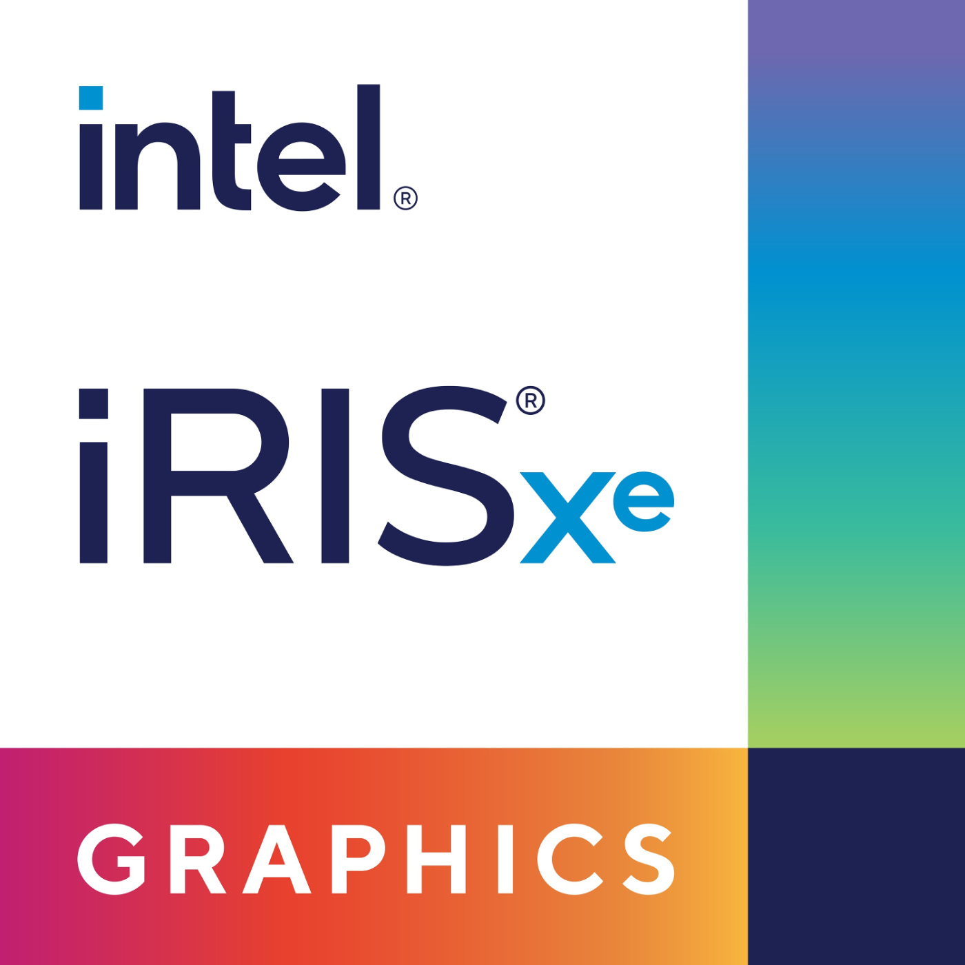 intel iris xe graphics badge
