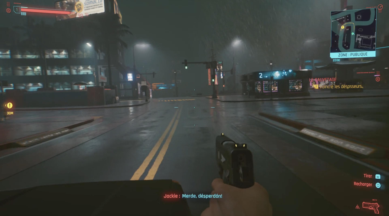 Aperçu CyberPunk 2077 Décembre 2020 PS4/PS5