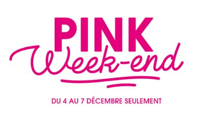 Pink Week-end Boursorama Banque