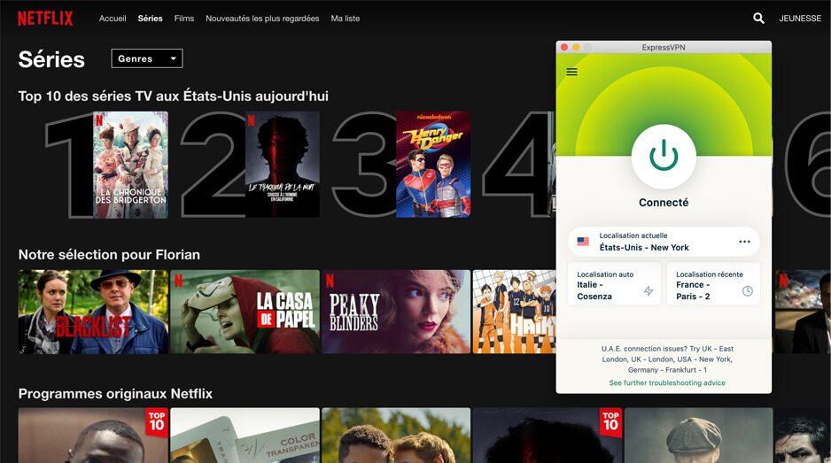 Acces Netflix US ExpressVPN