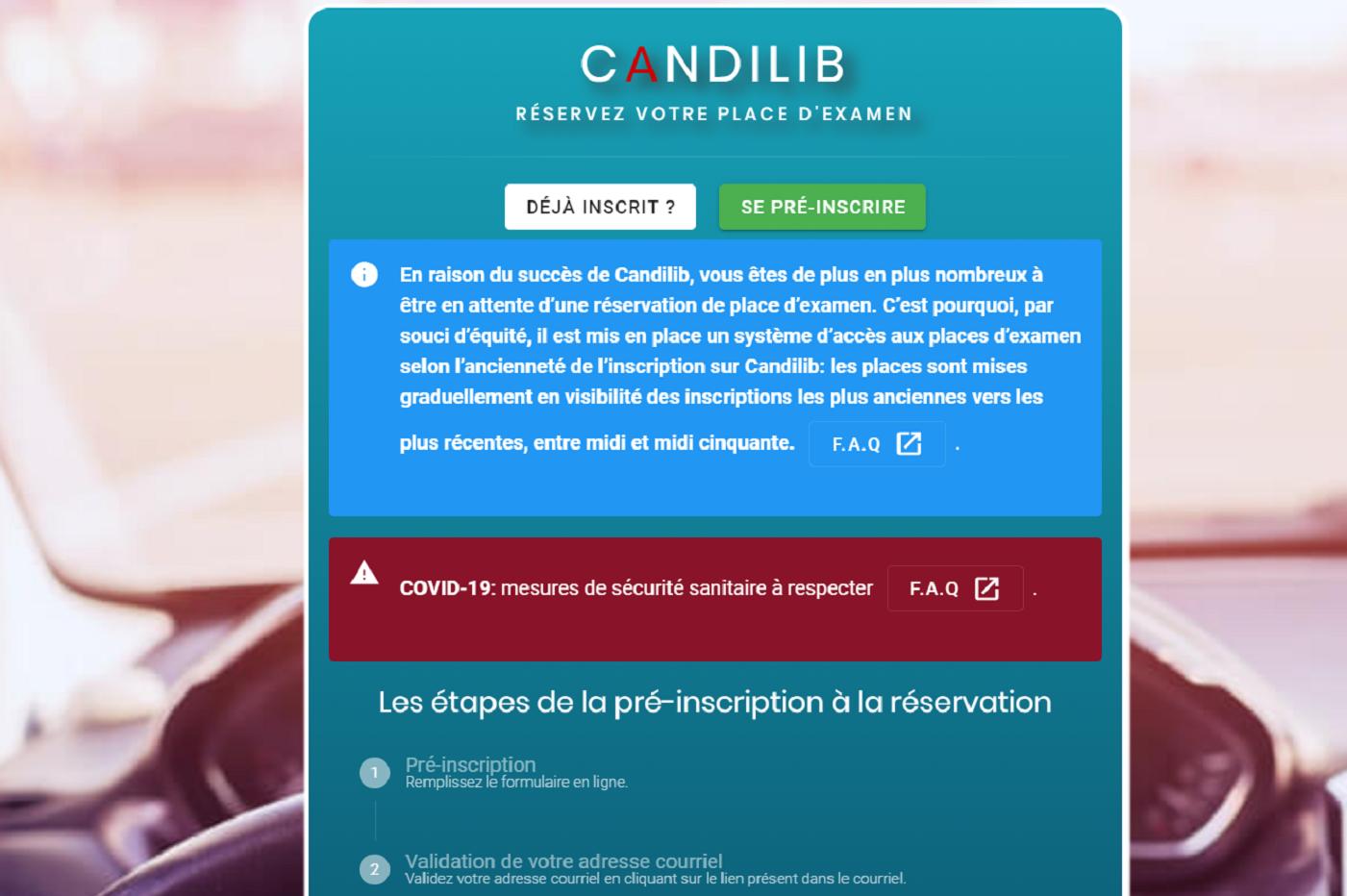 Candilib : sortie de route pour la start-up qui devait révolutionner le permis de conduire