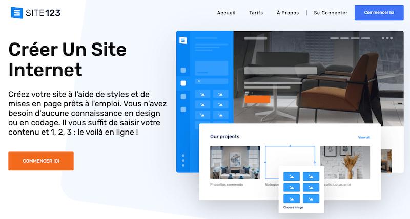 Createur-site-Site123