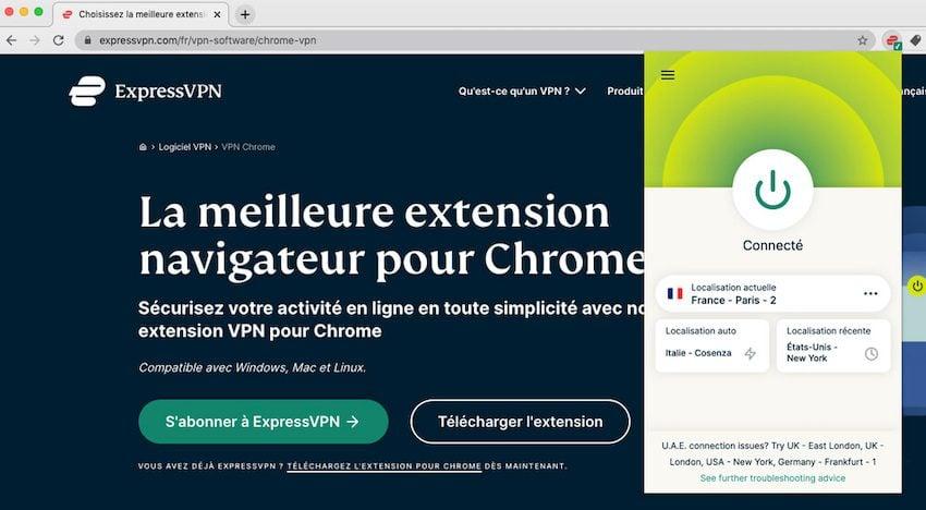 ExpressVPN Chrome