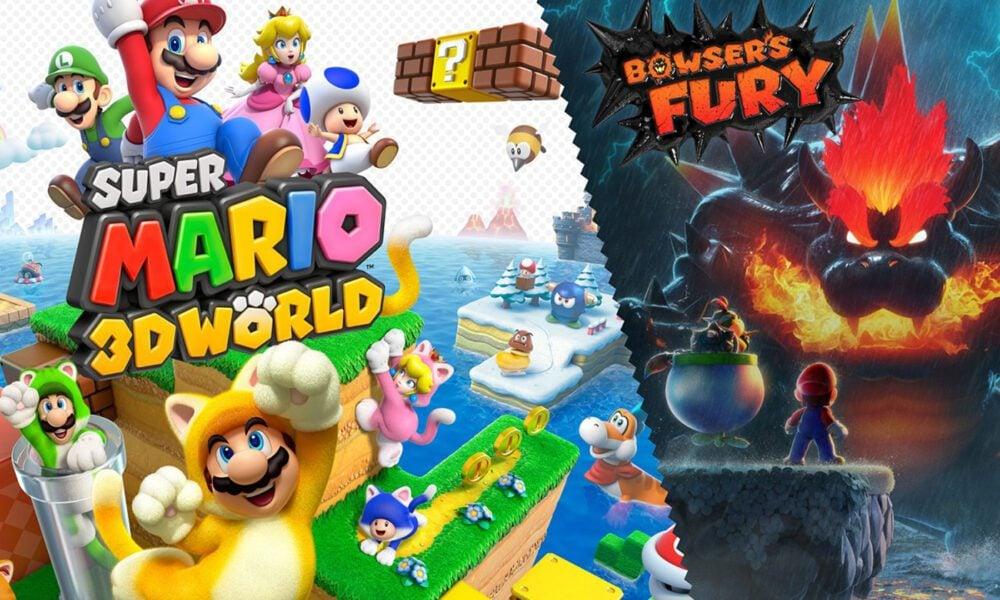 Test Mario 3D World Switch