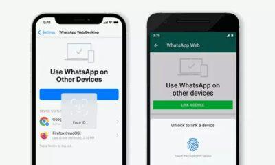 WhatsApp Face ID