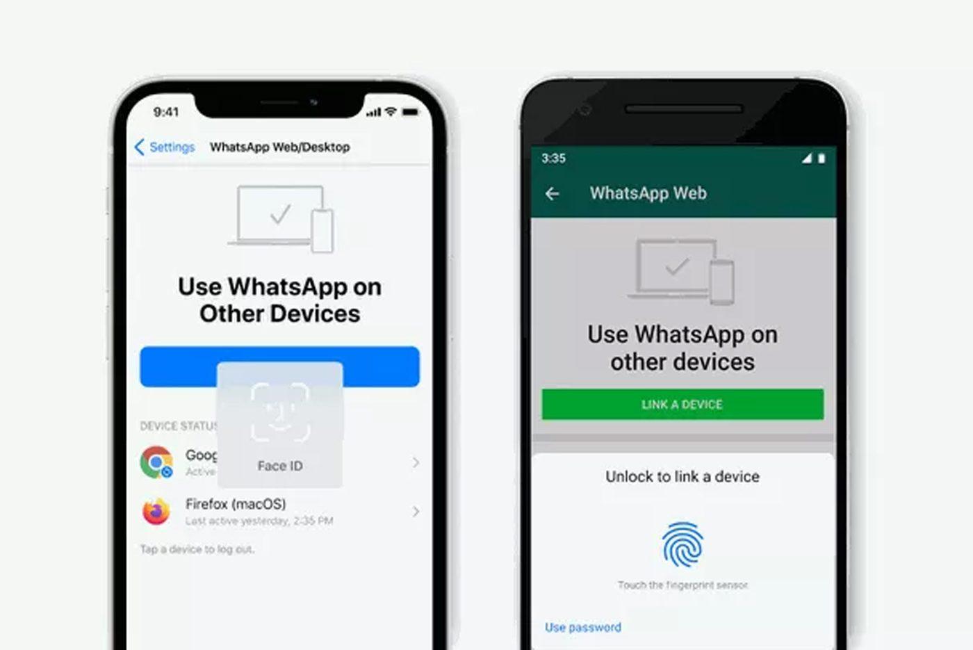 WhatsApp Web et Desktop ajoutent l'authentification biométrique pour la connexion