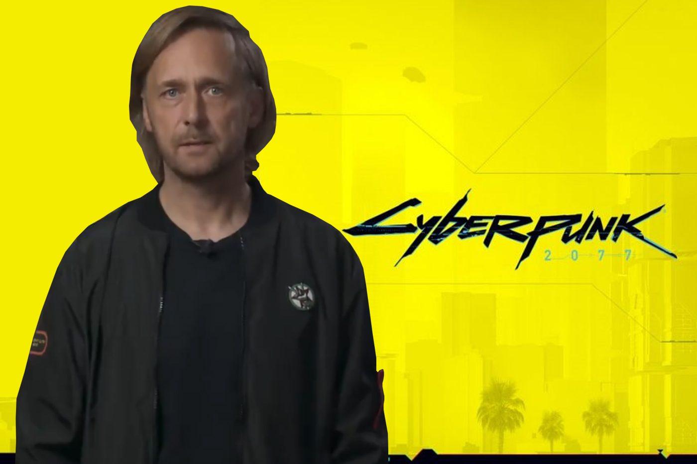 Co-Fondateur CD Projekt Red Cyber Punk 2077 Excuses