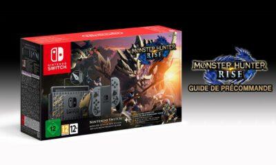 Guide Précommande Monster Hunter Rise