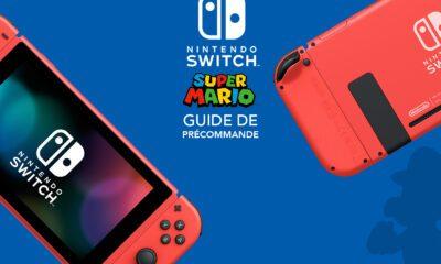 Guide Précommande Nintendo Switch Super Mario