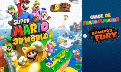 Guide Précommande Super Mario 3D World Bower's Fury