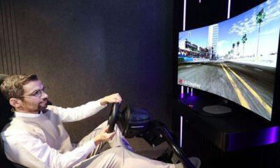 LG écran flexible gaming
