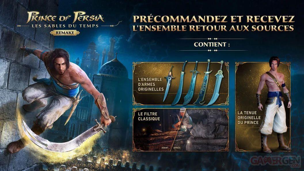 Prince of Persia Pre-Order Bonus
