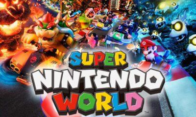 Super Nintendo World Premières Images
