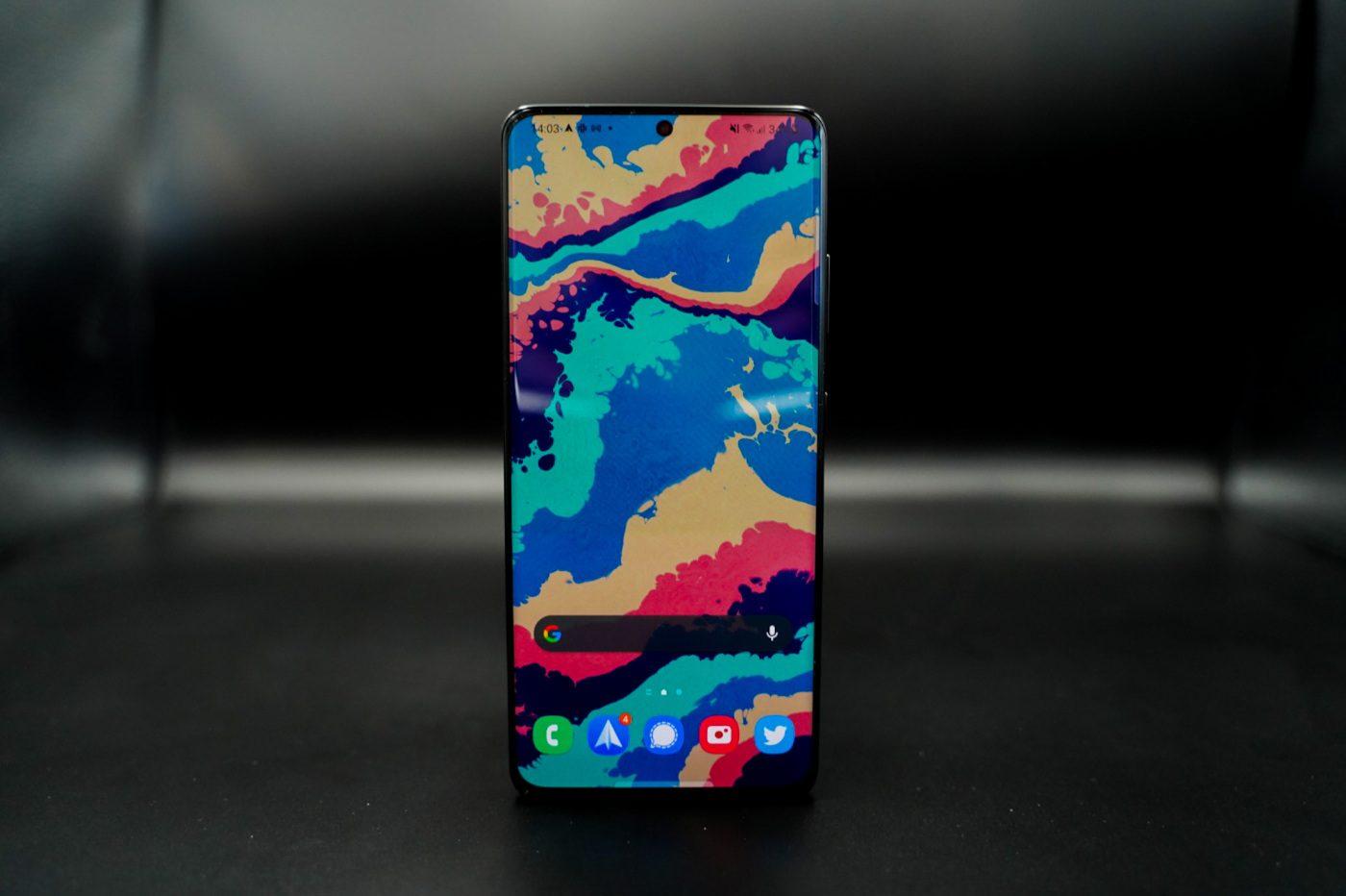 test galaxy s21 ultra screen