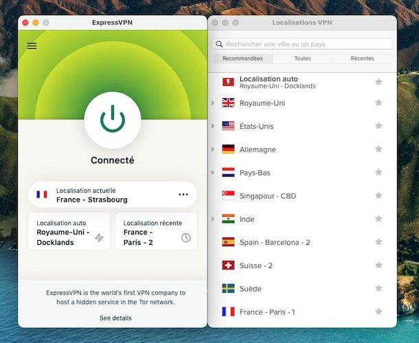 ExpressVPN-interface-macOS