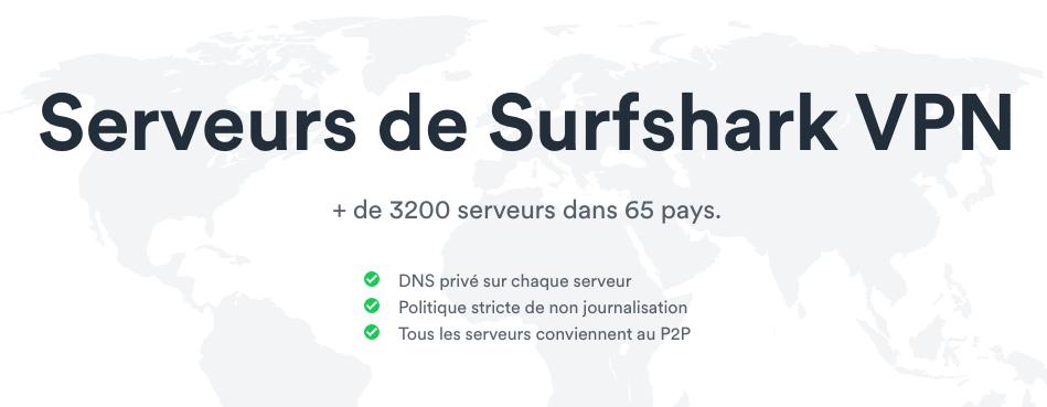 Localisations-serveurs-Surfshark-VPN