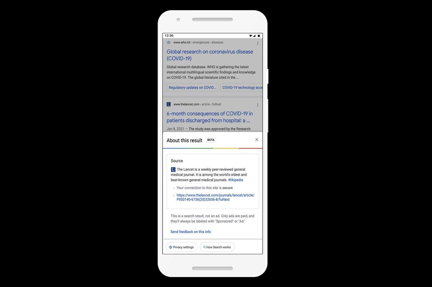 Google proposera bientôt des résumés des sites dans ses résultats de recherche