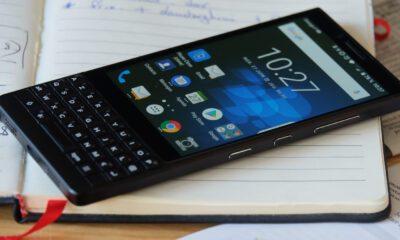 blackberry retour clavier