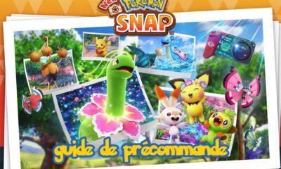 Guide Précommande New Pokemon Snap