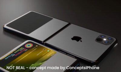 iPhone écran pliable