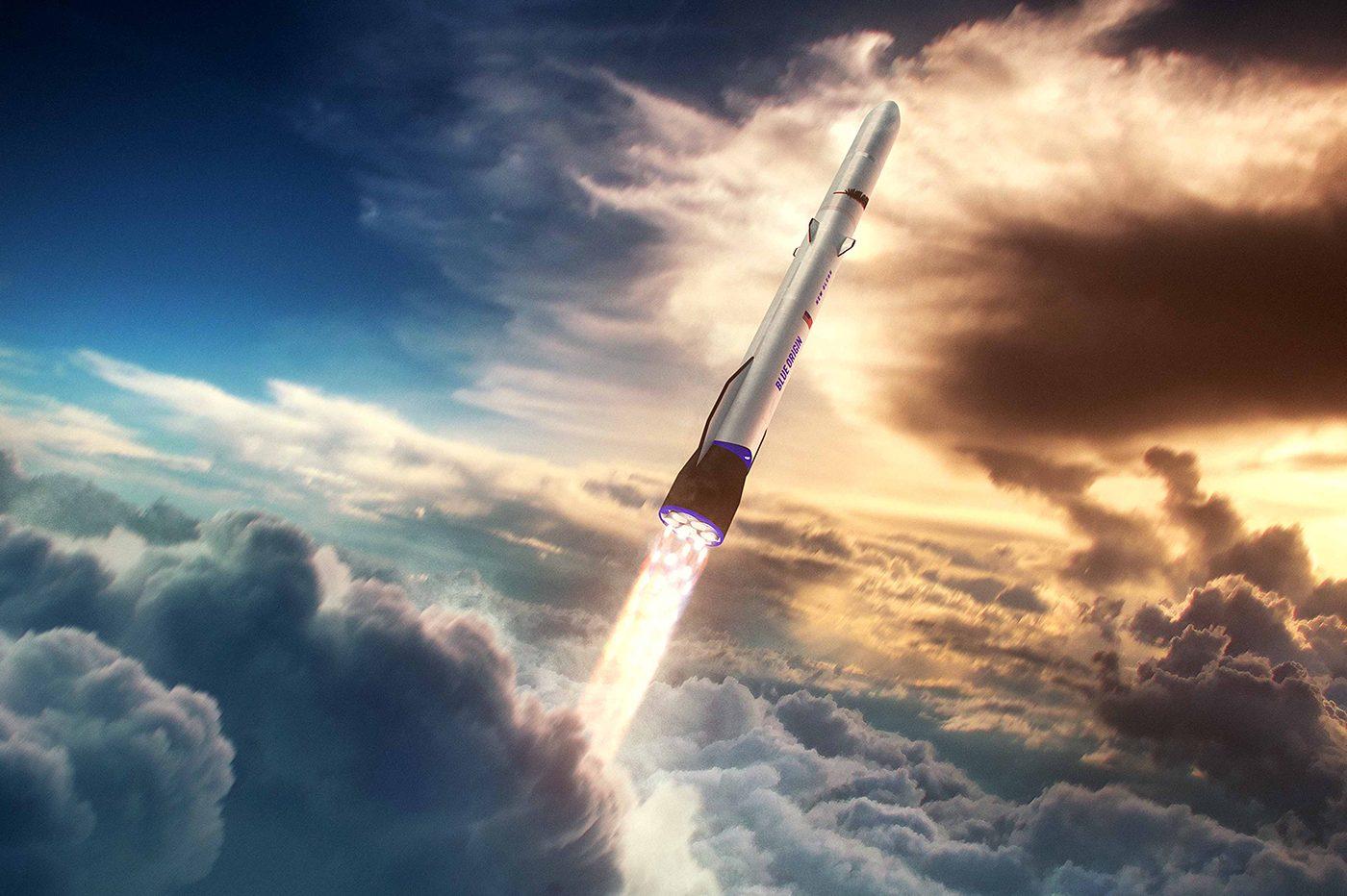 Jeff Bezos repousse le lancement de la fusée New Glenn, et tacle l'US Space Force