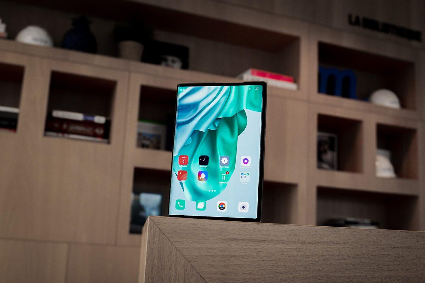 Oppo X 2021 : on a essayé le premier smartphone enroulable, et il est fabuleux - Presse-citron