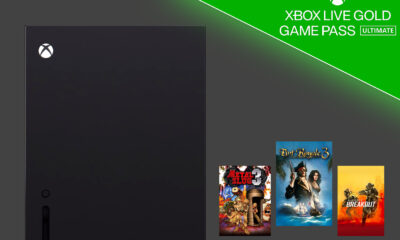 Jeux Offerts Xbox Series X Mars 2021