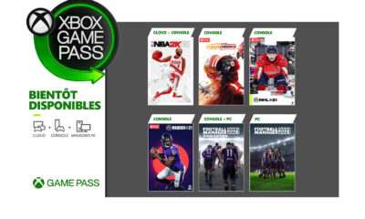 Jeux Xbox Game Pass Mars 2021