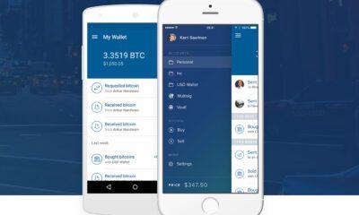 Coinbase application mobile