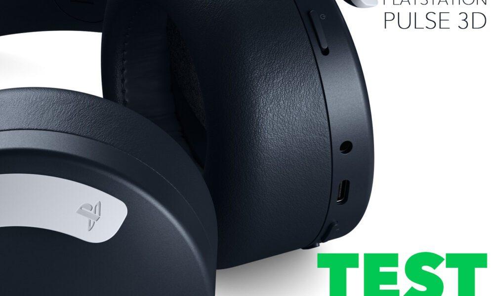 Test Casque PS5 Pulse 3D